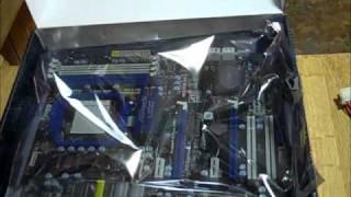 installing cpu and heatsink on motherboard