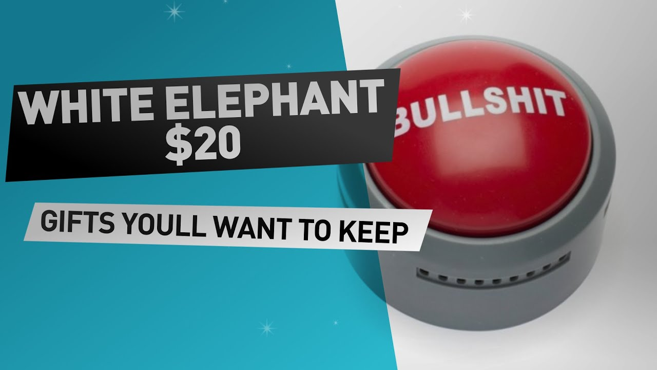 White Elephant Gifts Under 20 dollar // Great White Elephant Gift ...