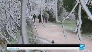 France : vague de froid sur tout le pays