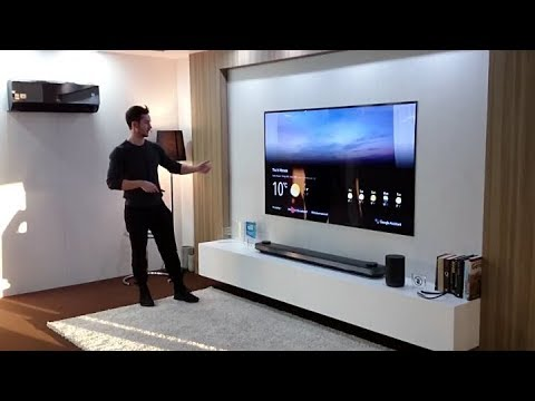 LG ThinQ Smart Home - Theatrical demonstration | Electronicanto