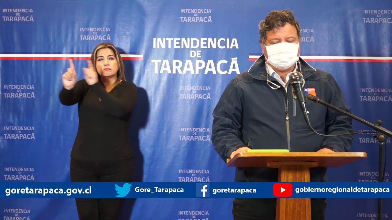 Punto de prensa 01 de julio de 2020 - Gobierno Regional de Tarapacá