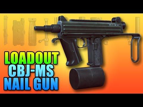 BF4 Loadout CBJ-MS Bob The Builder Nail Gun | Battlefield 4 PDW Gameplay
