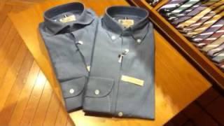 LUIGI BORRELLI(ルイジ ボレッリ)>のLUXURY VINTAGEシャツをご紹介し...