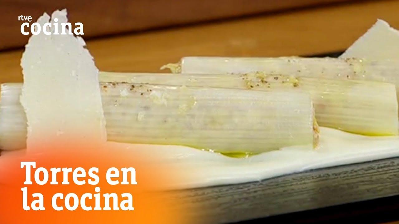 Canelones de puerro y pollo torres en la cocina rtve for Torres en la cocina youtube