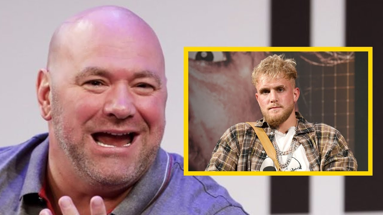 """News: Jake Paul: """"I have already started to influence the business of Dana White"""""""