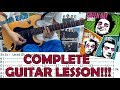 Boulevard Of Broken Dreams - Green Day(Complete Guitar Lesson/Cover)with Chords and Tab