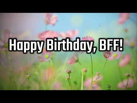 Happy birthday wishes for a male best friend