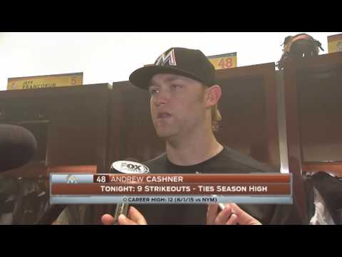 Andrew Cashner - Miami Marlins vs. Philadelphia Phillies postgame 9/7/16
