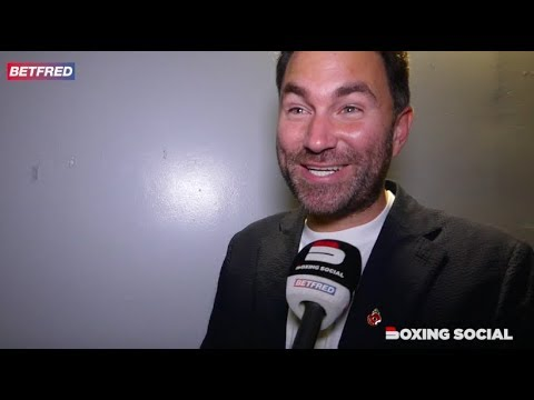 'KSI SHOWED PLENTY OF HEART!' EDDIE HEARN REACTS TO 'ENTERTAINING' KSI WIN OVER LOGAN PAUL IN LA
