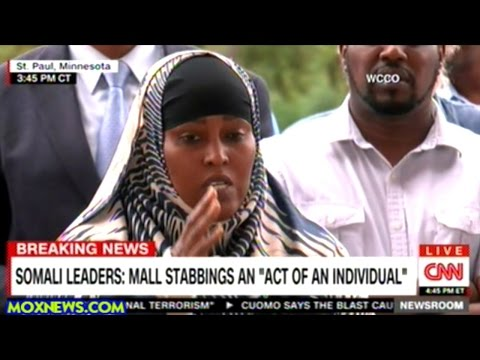 Minnesota Somali Community Leaders Hold Press Conference On Mall Stabbing