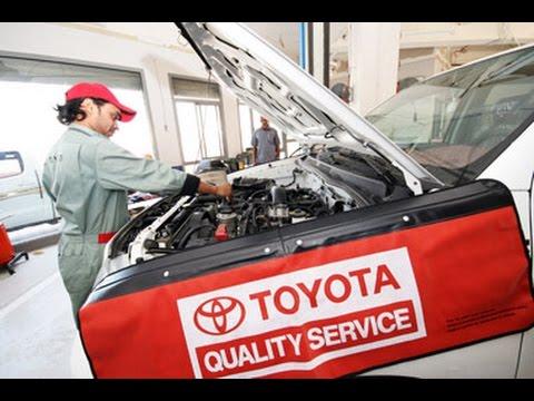 #67.Автосервис дилера Тойоты. Toyota Auto Service.