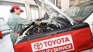 #87.Автосервис дилера Тойоты. Toyota auto service.(, 2015-09-29T23:22:50.000Z)