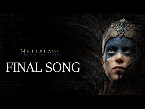 Hellblade Senua's Sacrifice - FINAL CREDIT SONG  (Beautiful)