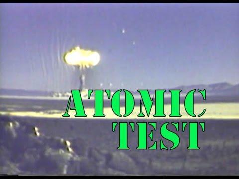 Atomic Test, Nevada -  Educational Film