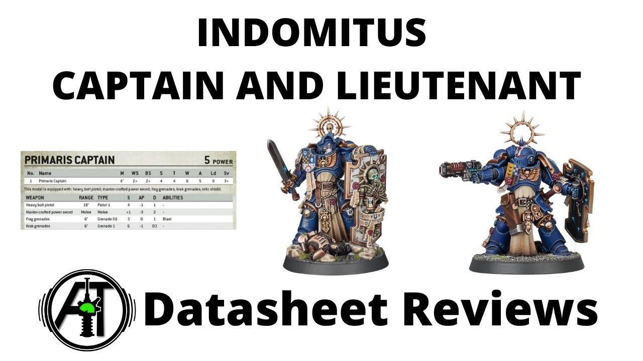 Primaris Captain + Primaris Lieutenant from Indomitus Box - Datasheet Reviews and Tactics Discussion