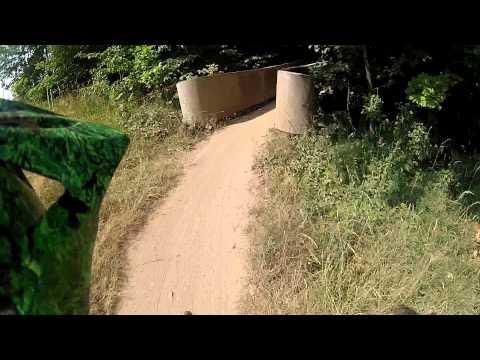 Blue Mountain Summer 2012 - Haloe run on 2009 Norco six1
