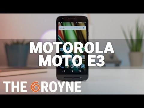 Motorola Moto E3, review en español