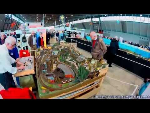 Путевые Заметки.Штутгарт,ноябрь 2014:выставка моделирования MODELL SÜD в Stuttgart Messe
