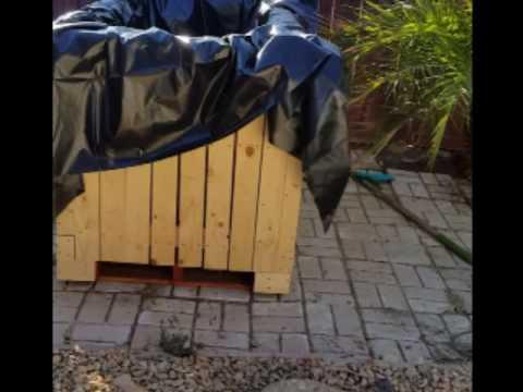 Raised wooden pond build  |First attempt!