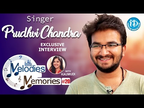 Singer Prudhvi Chandra Exclusive Interview || Melodies And Memories #20