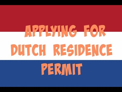 How I moved to the Netherlands || Applying for Dutch Residence Permit