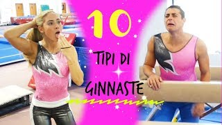 10 TYPES OF GYMNASTS! And more...