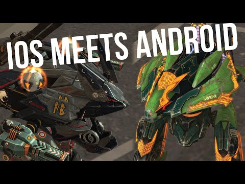 War Robots - Adrian In Top Clan Battle On Android | Clan HC vs BROM