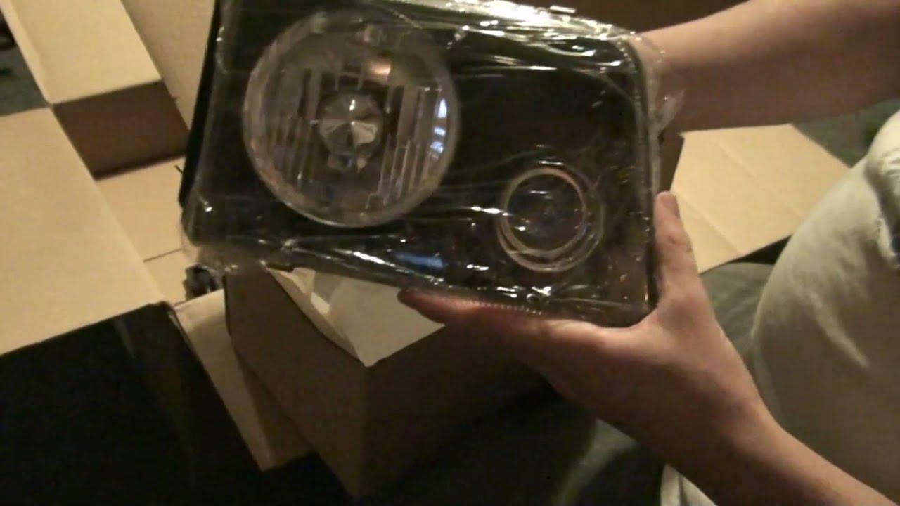 ford ranger headlights arrived youtube. Black Bedroom Furniture Sets. Home Design Ideas