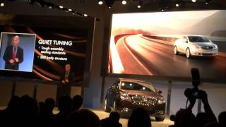 Unveiling of the 2012 Buick Verano at 2011 NAIAS