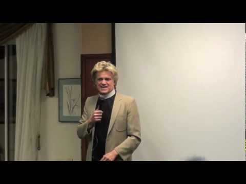 Reverend Billy speaks at OWS forum
