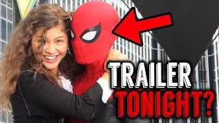 Spider-Man: Far From Home TRAILER DROPPING TONIGHT? According to Sources!- Real or Fake?