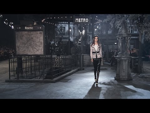 Paris in Rome 2015/16 Métiers d'Art show - CHANEL