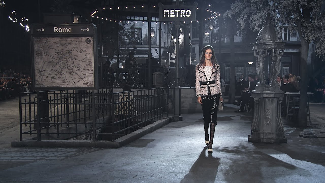Paris in Rome 2015/16 Métiers d'Art show - CHANEL