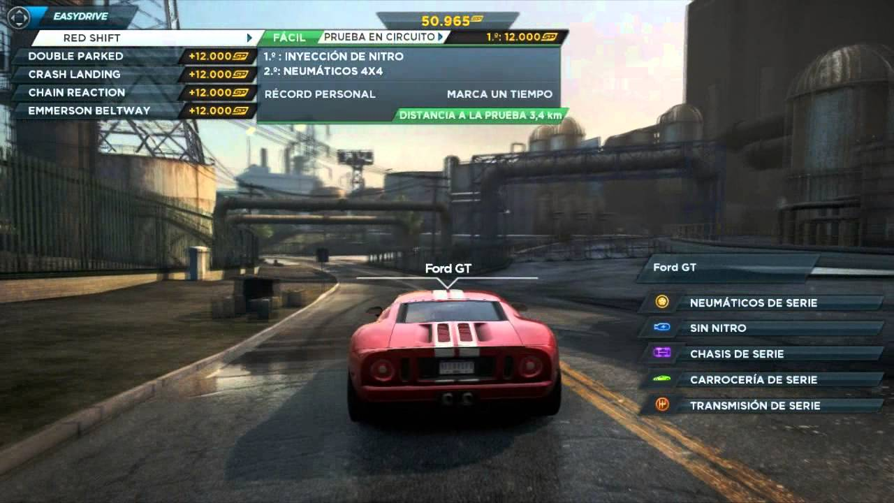 Ford Gt Location Need For Speed Most Wanted 2012 Youtube
