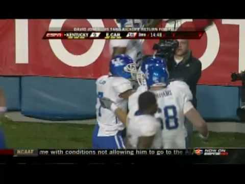 David Jones 99-Yard Touchdown Kickoff Return Liberty Bowl 2009