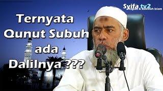 Ternyata Qunut Subuh ada Dalilnya!!!   Ustadz Yazid bin abdul qadir jawas