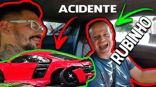Andando com o Rubinho de Audi R8 ! + ACIDENTE ! ARREBENTOU O R8 !!!! = Canal D2M