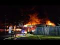 Millionenschaden nach Großbrand bei Kassel 01.02.2017