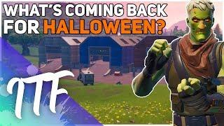 Quels skins sont de retour cet Halloween? (Fortnite Battle Royale)