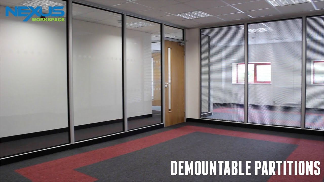 Demountable Partitions Youtube