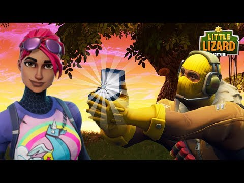RAPTOR PROPOSES TO LITTLE KELLY - *SEASON 5* FORTNITE SHORT FILM