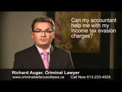Advice on Income Tax Evasion Charges - Legal Advice From a Top Ottawa Criminal Lawyer