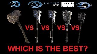 Which Halo Game Has The Best Gravity Hammer?