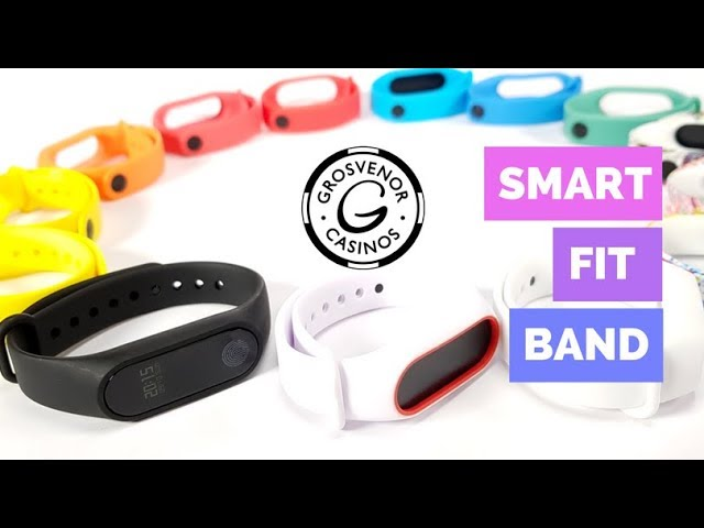 Smart Fit Band Promo for Grosvenor Casino