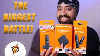 COMPARISON - Mi TV Stick vs Mi Box 4K vs Amazon Fire TV Stick - Best Streaming Device?