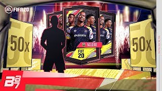 HUGE PACK OPENING! 50 x 50K FIFA 20 PACKS! | FIFA 20 ULTIMATE TEAM