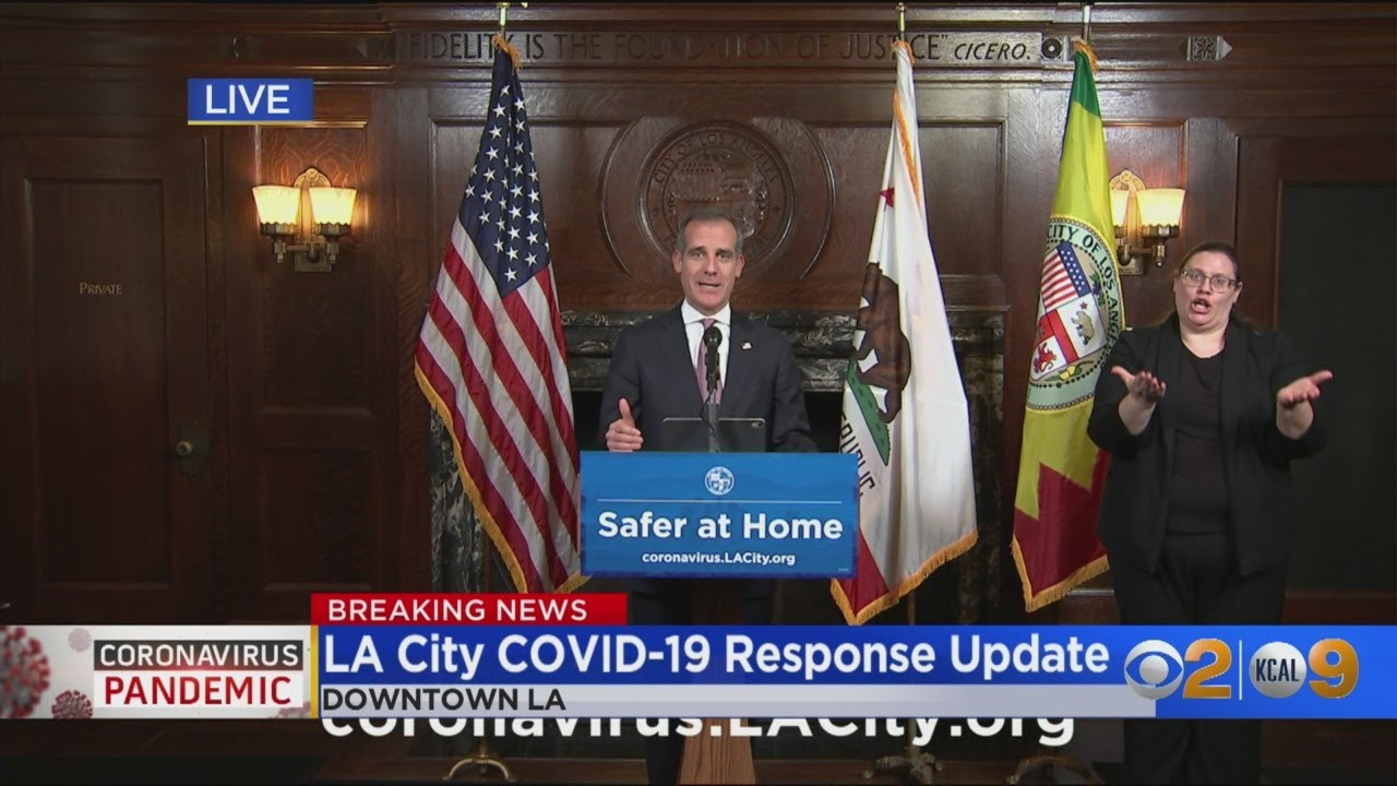 'Snitches Get Rewards': Garcetti Encourages Community To Report Businesses Violating Safer