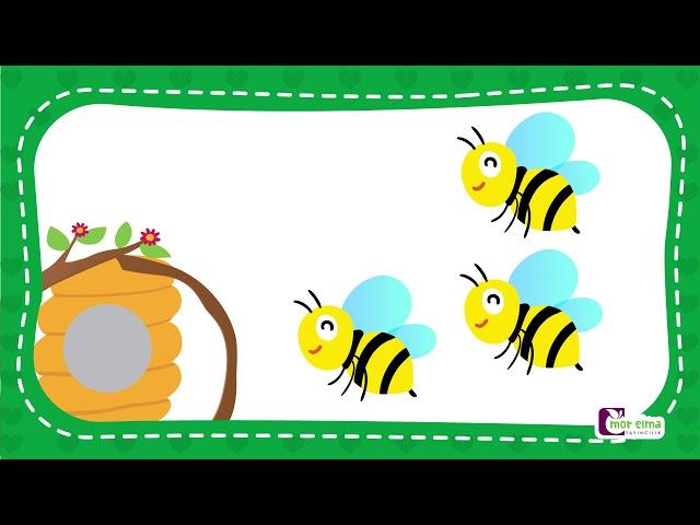3 Rakamı Nasıl Çizilir - Okul Öncesi Eğitim