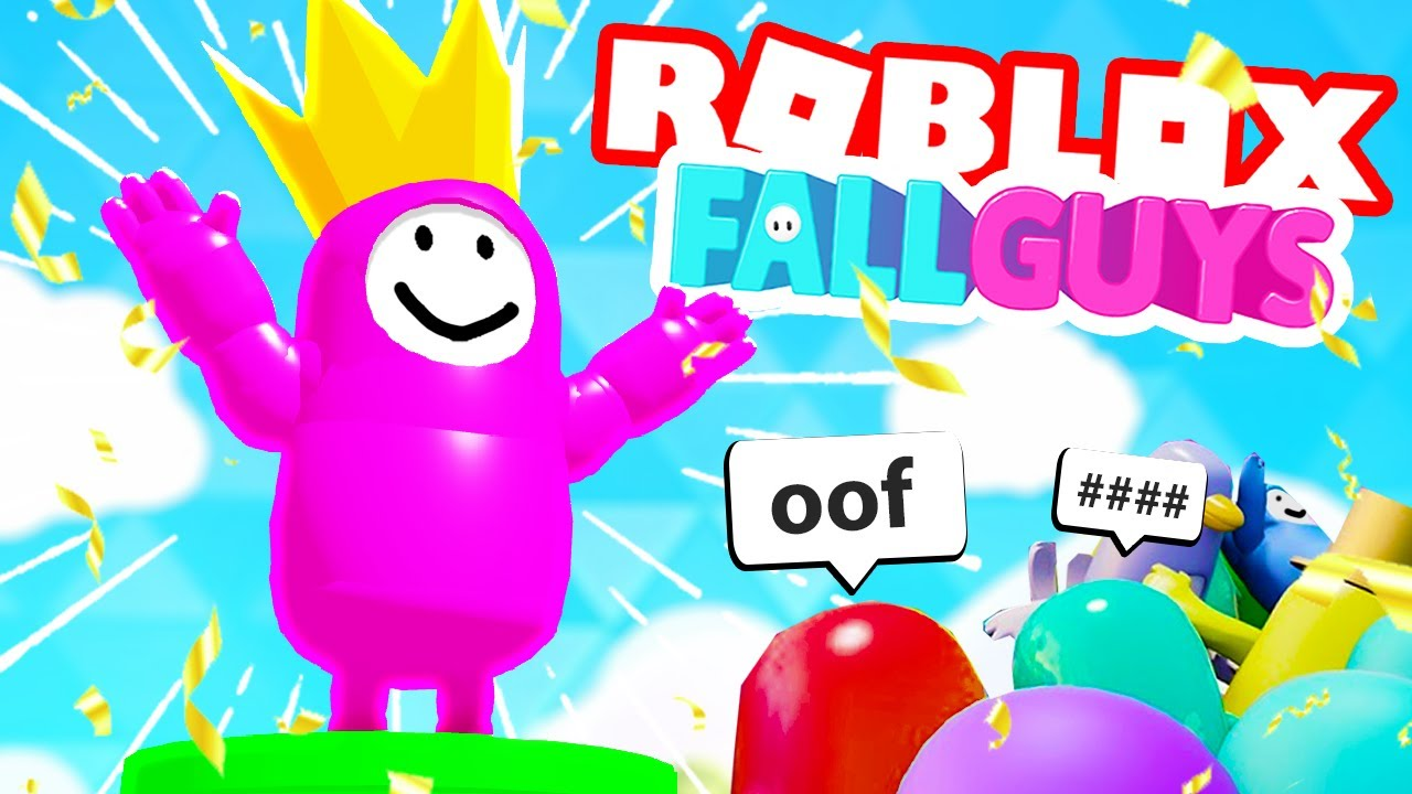 WINNING ROBLOX FALL GUYS | Slipblox