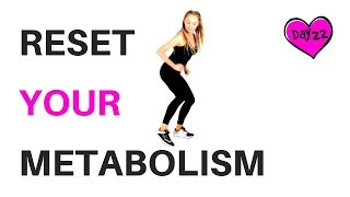 HOME HIIT CARDIO - CALORIE BURNING WORKOUT - RESET YOUR METABOLISM suitable for every fitness level